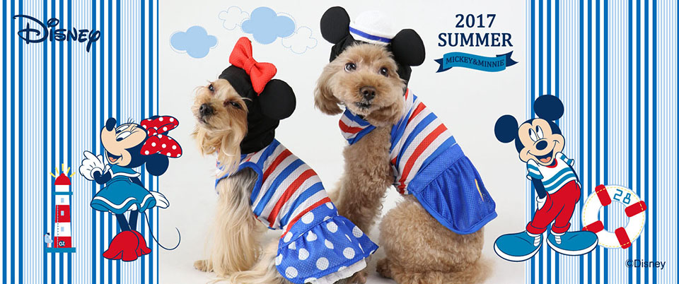 2017夏ミッキー&ミニー