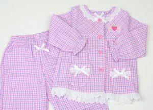 野いちご長袖パジャマ